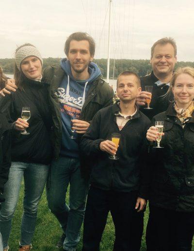 Bootsfahrschule Berlin - glückliche Bootsführerschein-Besitzer