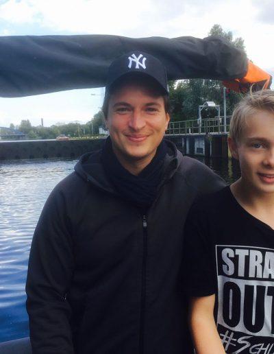 Bootsfahrschule Berlin - zukünftige Kapitäne